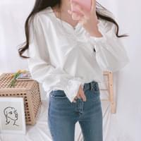 Josephine shirring blouse