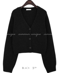 LOHA LAMBSWOOL 60% KNIT CARDIGAN