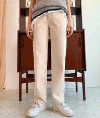 312 true cotton straight pants