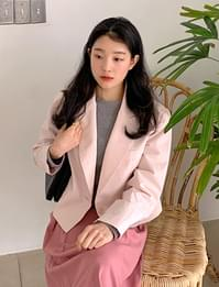 Cotton candy short jacket_J