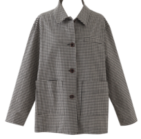 Sweety check cotton jacket