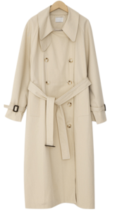 Holmes trench long coat_P (size : free)