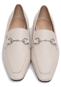 Silver buckle flat loafer_P (size : 225,230,235,240,245,250)