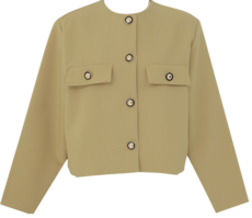 Gold button short jacket_U