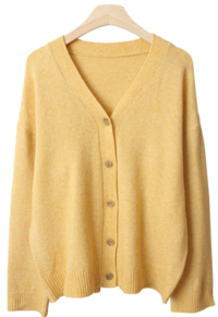 FJ V knit cardigan