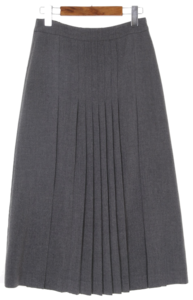 Accordion middle skirt