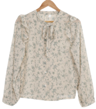 Muir ribbon blouse