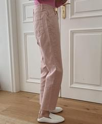 Derby color Faded trousers