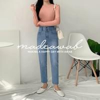 Diet Double High Date Pants