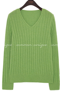 ROMIL LAMBSWOOL GOLGI V NECK KNIT