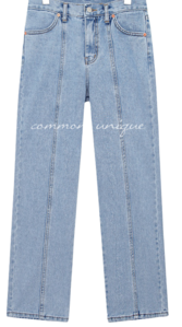 ABIN BAGGY DENIM PANTS