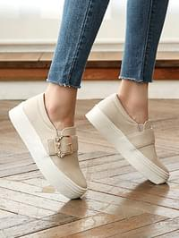 I love you Thick Slip-on 4cm