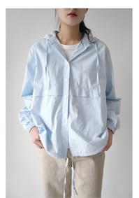 clean casual easy cotton shirt (3colors)