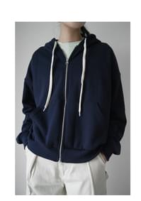 wearable daily hood zip-up (2colors)
