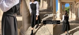 My-littleclassic / Noblesse-pin tuck dress