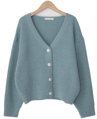 Fudge bongbong soft cardigan_P