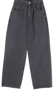 Standard Black Denim Pants