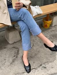 Momo closet cozy denim pants_U