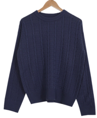Tooth Exhaust Round Knit