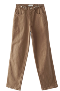 wearable three button pants