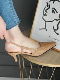 Elf Slingback Middle Heel Pumps 6cm