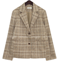 DENIV STANDARD CHECK JACKET