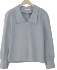 Drop button blouse_C
