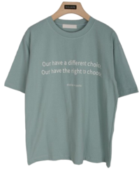 Difference Lettering T-Shirt