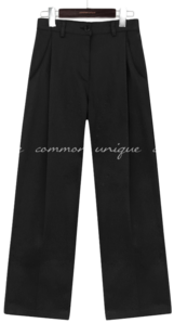 RONIN PINTUCK WIDE COTTON PANTS パンツ
