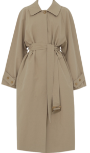 Dream long trench coat_U (size : free)
