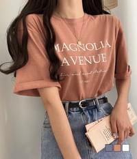 Avenue loose-fit short-sleeved T-shirt