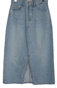 Ann denim skirt
