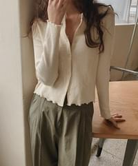 Mid crop cardigan