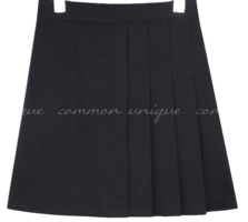 LOMAN UNBAL PLEATS MINI SKIRT