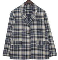 HOLLIS CHECK SINGLE JACKET