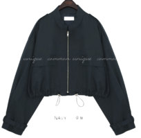 RODIO POCKET STRING JUMPER zip-up