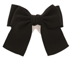 Bow Accent Barrette Hair Clip