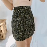 Star Flower Mini Skirt