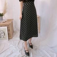 Shushu Dot Long Skirt
