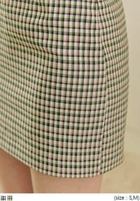 ROSEN CHECK MINI SKIRT