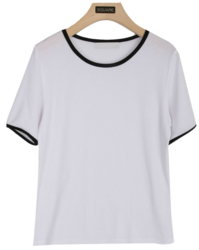 Peanut Cream Half T-Shirt