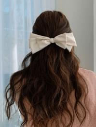 Girly Big Ribbon Hairpin
