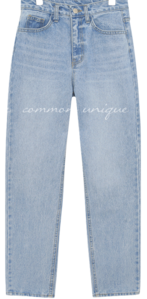 VIES WASHING BAGGY DENIM PANTS