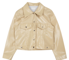 Q Gloss leather jacket