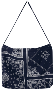 In-Out Paisley Cotton Eco Bag_J