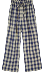 Missoni String Check Pants