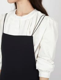 Classic round blouse