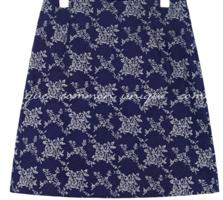 TIREN FLOWER JACQUARD MINI SKIRT 裙子