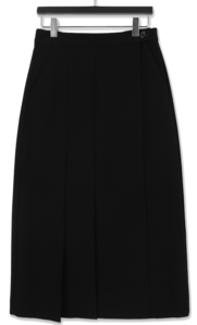 Classic pleated lab skirt