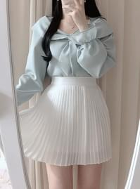 Same day delivery ♥ Lady pleated skirt